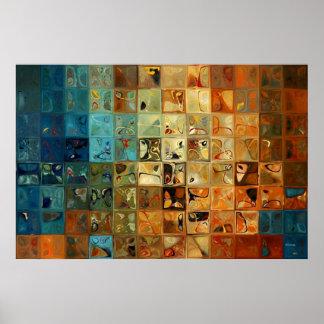 Modern Tile Art #11, 2009 Print