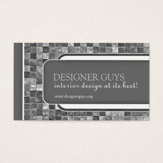 Modern Tiles Business Card