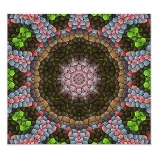 Modern tiles pattern art photo