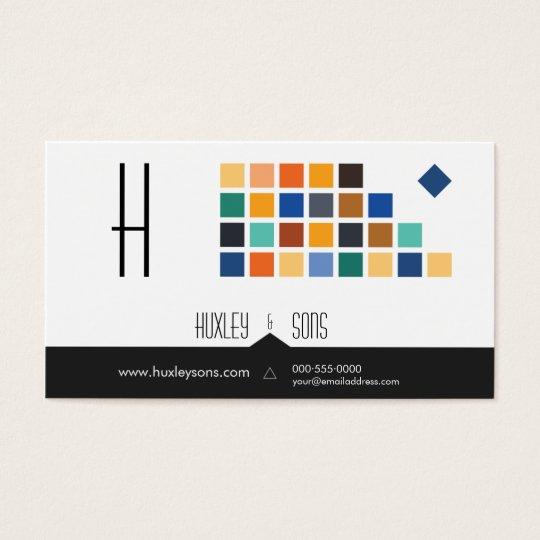 Modern Tiles Series No.3 Business Card