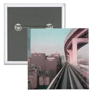 Modern Tokyo train Pin