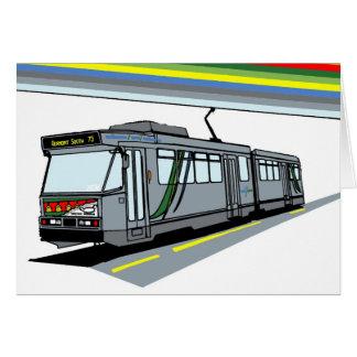 Modern Tram Cards