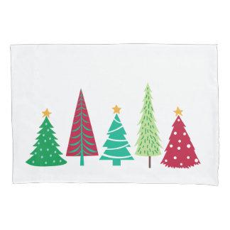 Modern trends Christmas Trees Pillowcase
