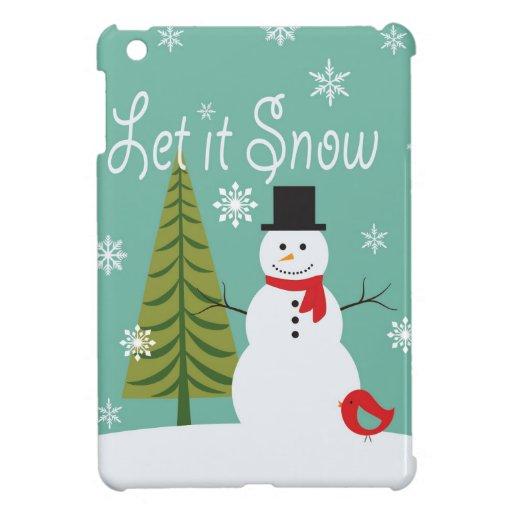 modern trends winter snowman case for the iPad mini