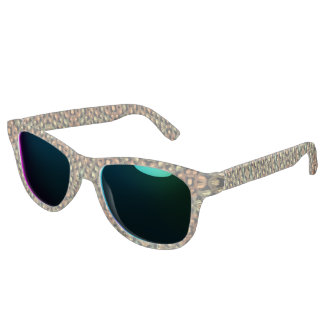 Modern trendy art sunglasses