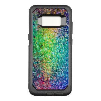 Modern Trendy Colorful Glitter OtterBox Commuter Samsung Galaxy S8 Case