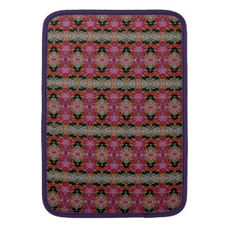 Modern trendy decorative pattern MacBook sleeve