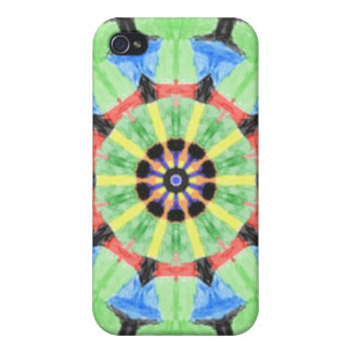 Modern trendy pattern iPhone 4/4S cover
