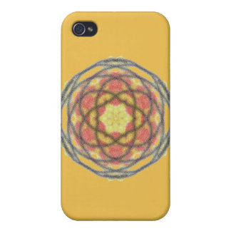 Modern trendy pattern iPhone 4 cover