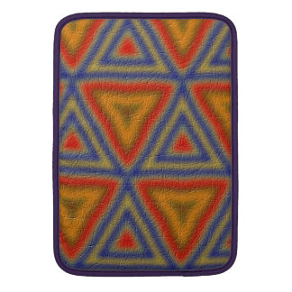 Modern trendy pattern MacBook sleeve