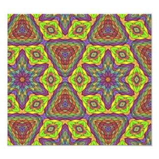 Modern trendy pattern photo print