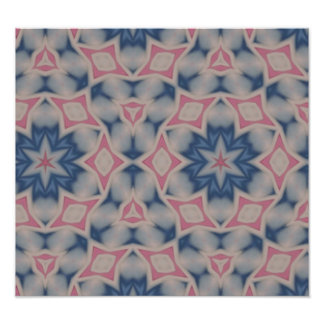Modern trendy pattern photographic print