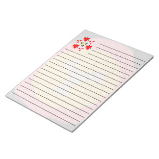 Modern trendy unique pattern notepad