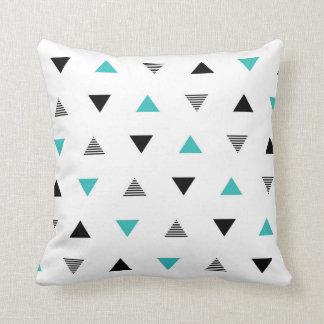 Modern Triangle Pattern Throw Pillow