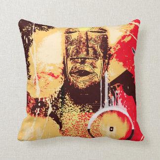 modern tribal cushion