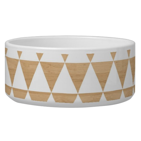Modern tribal wood geometric chic andes pattern dog
