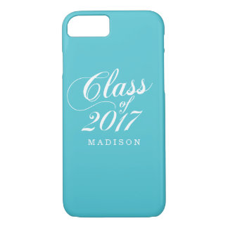 Modern Turquoise | Graduation iPhone 7 Case