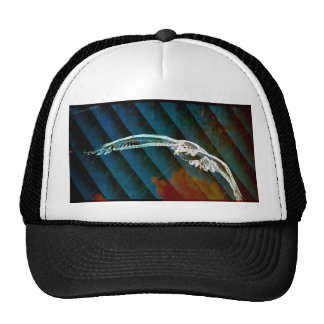 Modern  unique  trendy  fashion abstract art hats