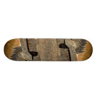 Modern  unique  trendy  fashion abstract art skate board deck