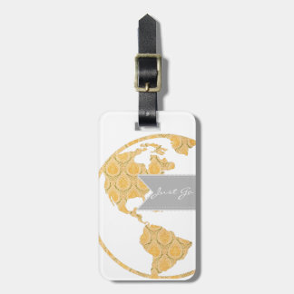 Modern Victorian World Map | World Traveler Tag