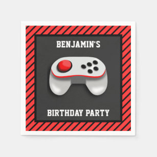 Video Game Party Supplies Zazzle Co Uk