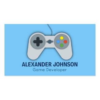 Modern Video Game Developers, Designers, Animators Pack Of Standard Business Cards