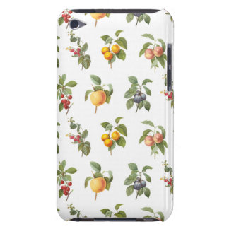 modern vintage botanical fruits barely there iPod cover