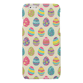 Modern Vintage Easter Eggs Decoration Pattern iPhone 6 Plus Case