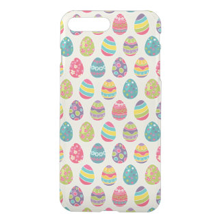 Modern Vintage Easter Eggs Decoration Pattern iPhone 7 Plus Case