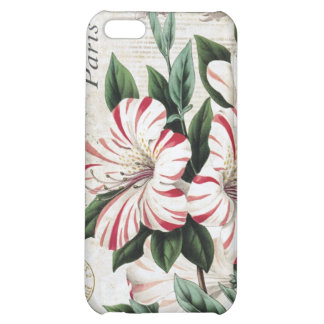 modern vintage french amarylis case for iPhone 5C