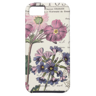 modern vintage french floral tough iPhone 5 case