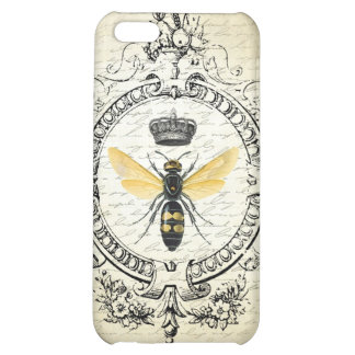 modern vintage french queen bee case for iPhone 5C