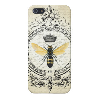 Modern vintage french queen bee case for the iPhone 5