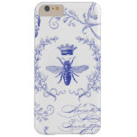 modern vintage french queen bee iphone case barely there iPhone 6 plus case