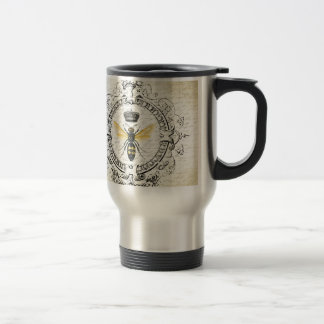 MODERN VINTAGE french queen bee Travel Mug
