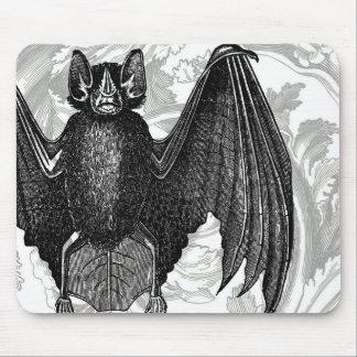 modern vintage Halloween Bat Mouse Pad