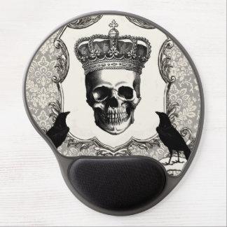 Modern Vintage Halloween skull Gel Mousepads