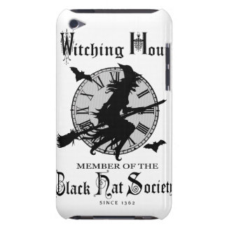 Modern Vintage Halloween witch iPod Touch Covers