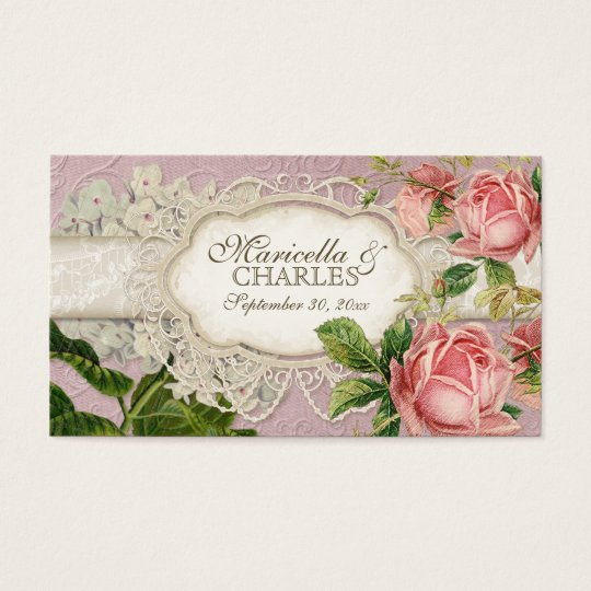 Modern Vintage Lace Tea Stained Hydrangea n Roses