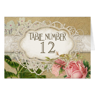 Modern Vintage Lace Tea Stained Hydrangea n Roses Cards
