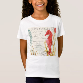 modern vintage seahorse T-Shirt