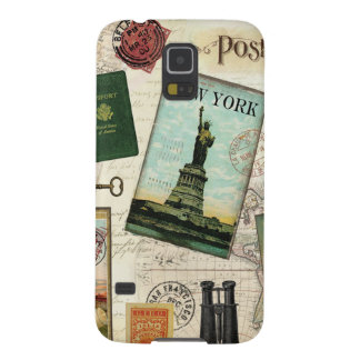 Modern vintage travel galaxy s5 cases