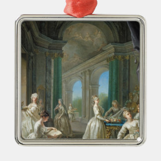 Modern Virgins, 1728 Christmas Ornament