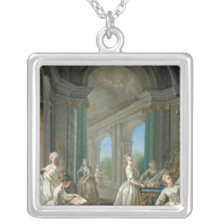 Modern Virgins, 1728 Silver Plated Necklace