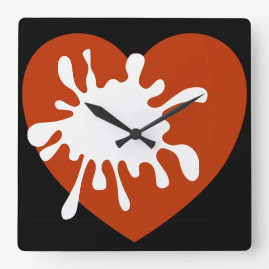Modern Wall Clock-African Design Of Spreading Love Wall Clocks