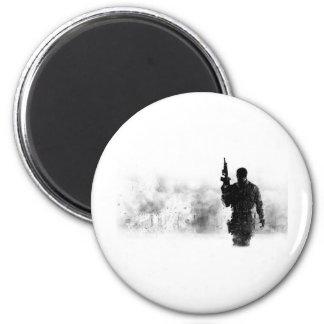 Modern Warefare 3 6 Cm Round Magnet