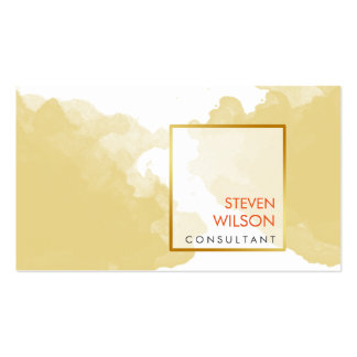 Modern Watercolor Elegant Artist Professional Pack Of Standard Business Cards