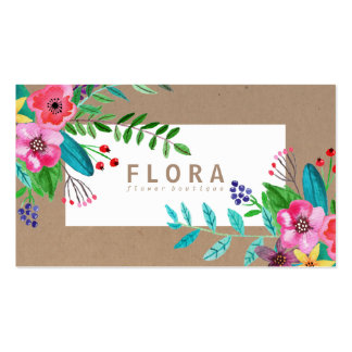 3000 florist business cards and florist business card for Florist business cards