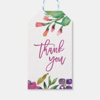 Thank You Tags Gift Tags | Zazzle.co.uk