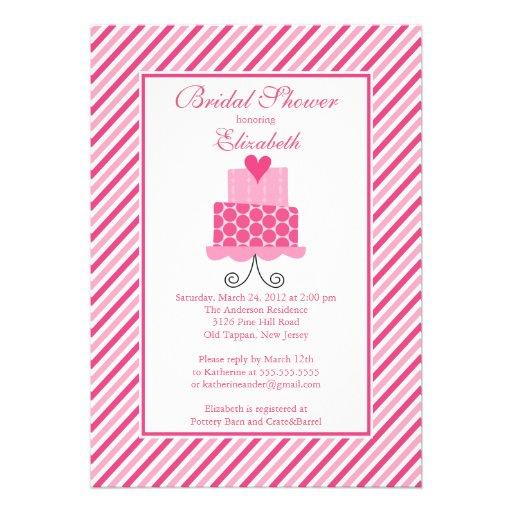 shop modern bridal shower invitations